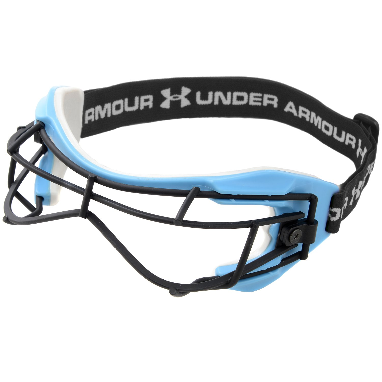 Women's UA Charge 2 Lacrosse Goggles, Carolina Blue, undefined