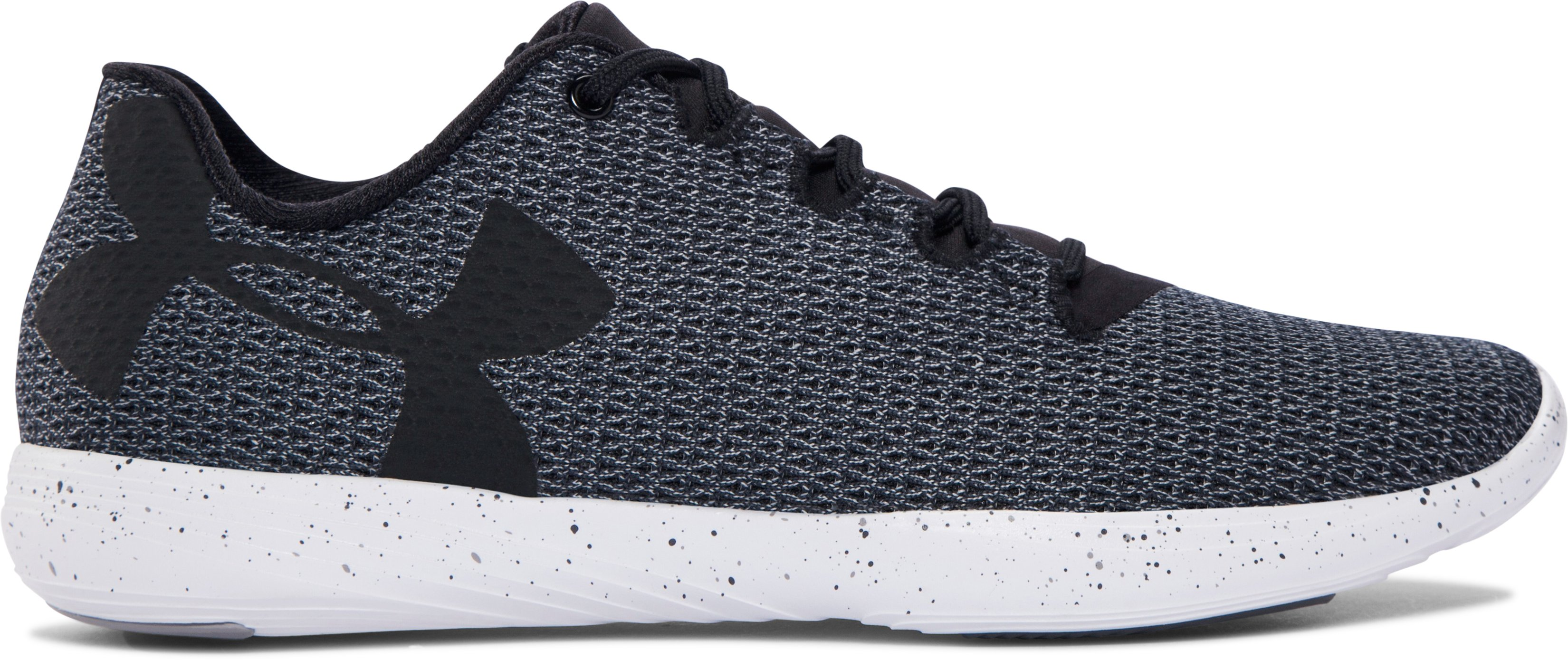 Women's UA Street Precision Low Speckle Shoes, Black ,