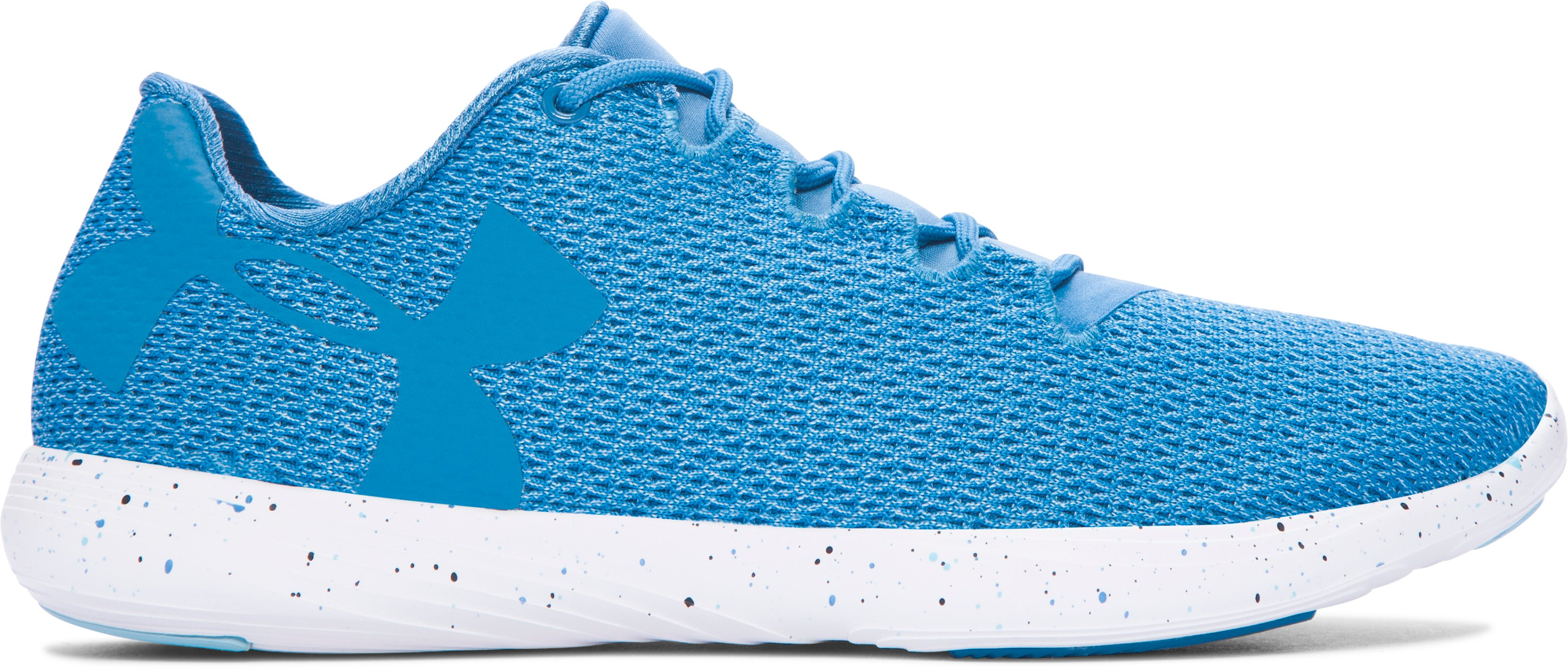 Women's UA Street Precision Low Speckle Shoes, CHICAGO BLUE,