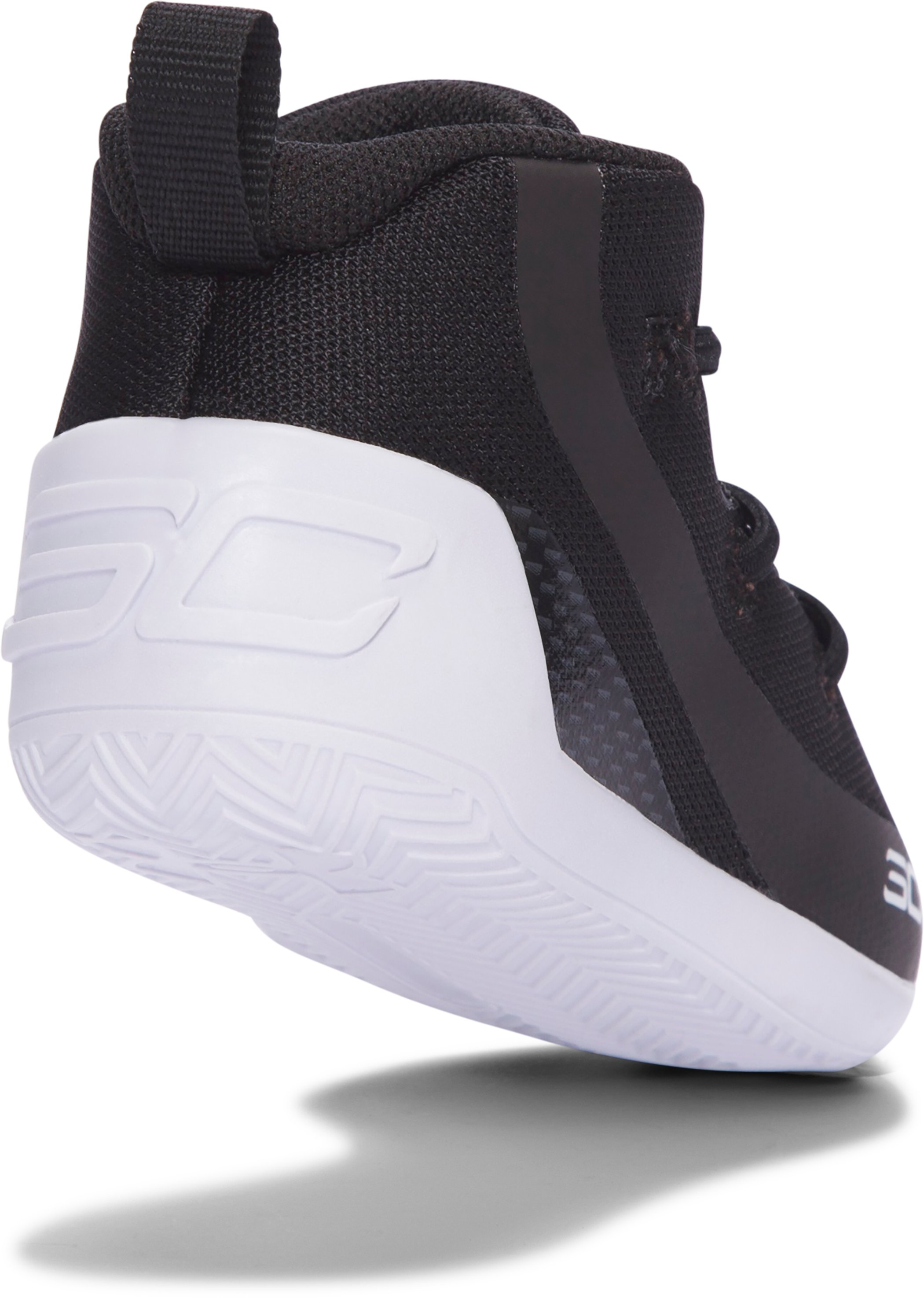 Crib UA Curry 3 Basketball Shoes, Black ,