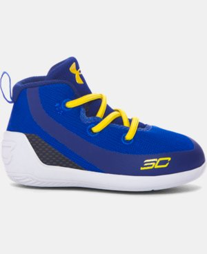 New Arrival Crib UA Curry 3 Basketball Shoes  1 Color $49.99