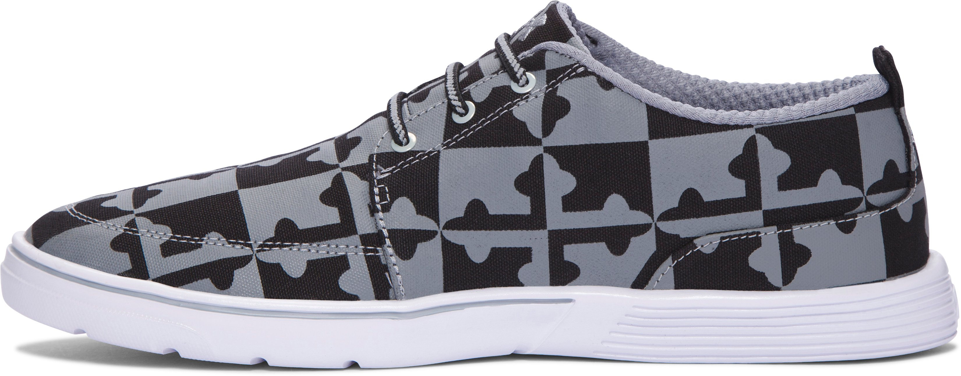 Men's UA Street Encounter III Baltiflage Shoes, Black