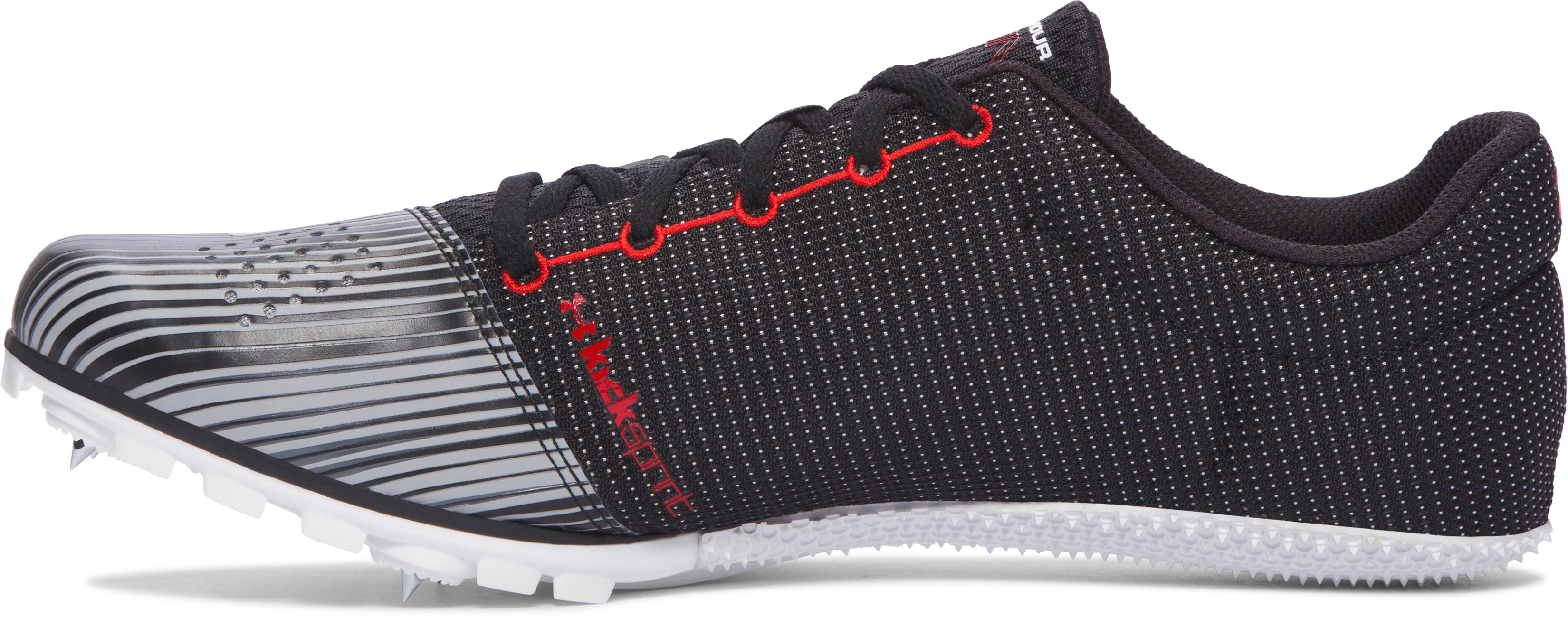 Men's UA Kick Sprint Track Spikes — Jesse Owens Edition, Black , undefined