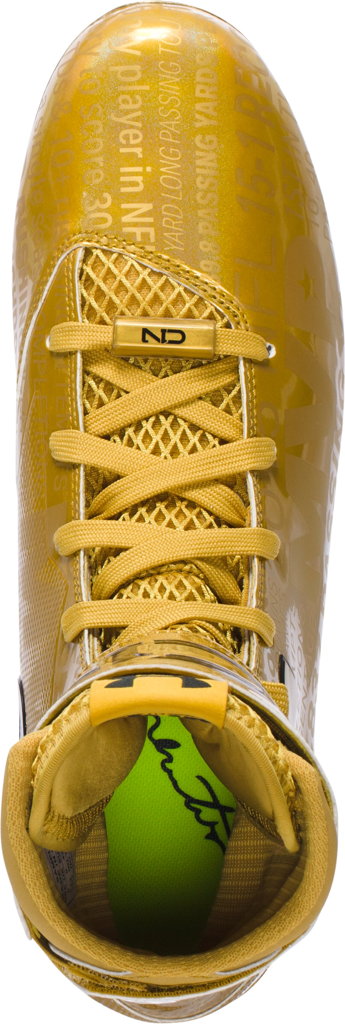 Men's C1N MVP Cleats - Limited Edition, Gold Rush