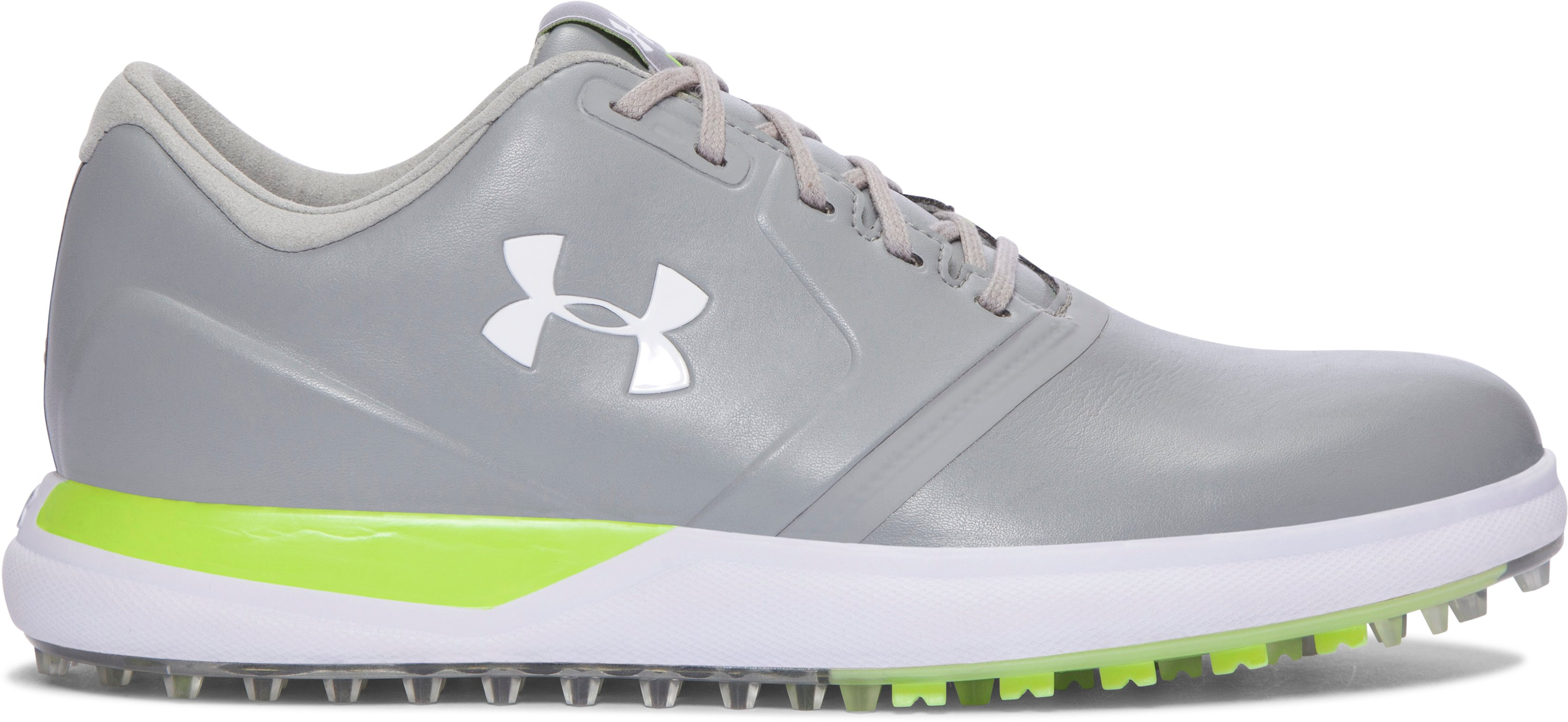 Women's UA Performance Spikeless Golf Shoes, Steel,