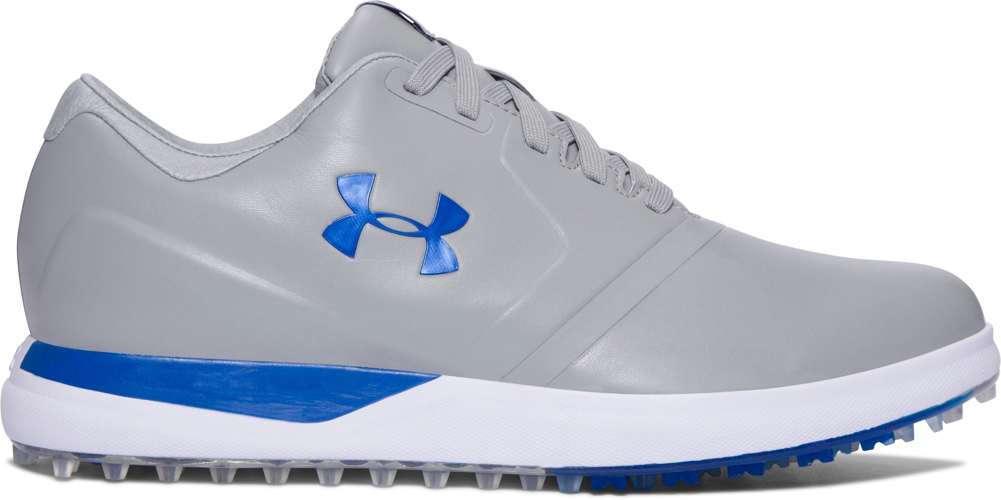 Men's UA Performance Spikeless Golf Shoes, 360 degree view