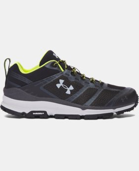 Men's UA Verge Low Hiking Boots  4 Colors $124.99