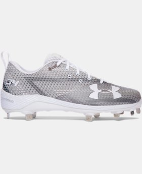New to Outlet Men's UA Harper One Low Baseball Cleats  2 Colors $83.99