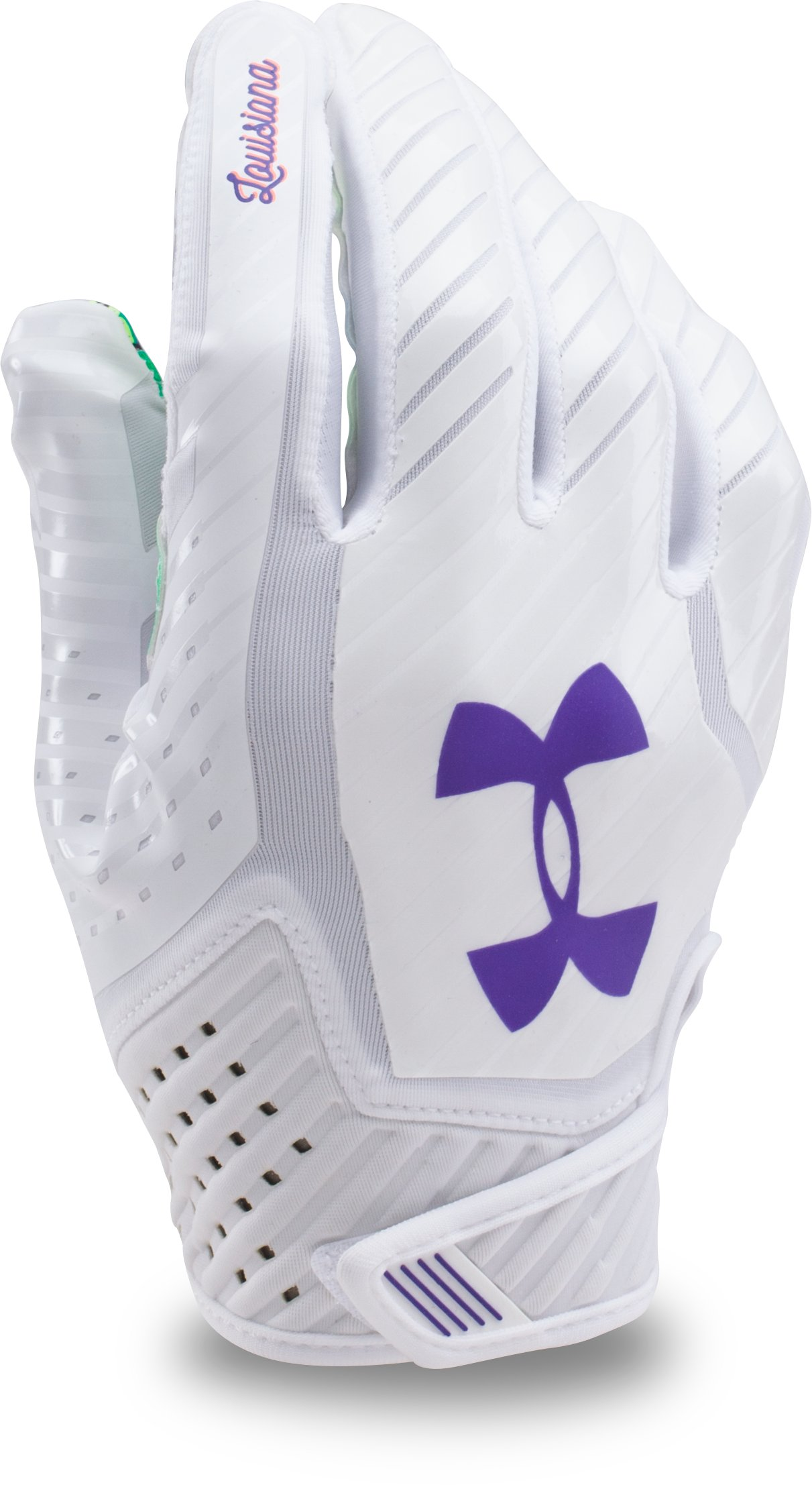 Men's UA Spotlight — Limited Edition Football Gloves, LOUISIANA, undefined