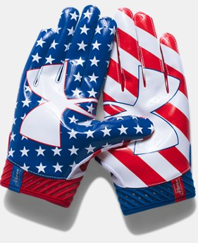 Men's UA Spotlight — Limited Edition Football Gloves  4 Colors $49.99