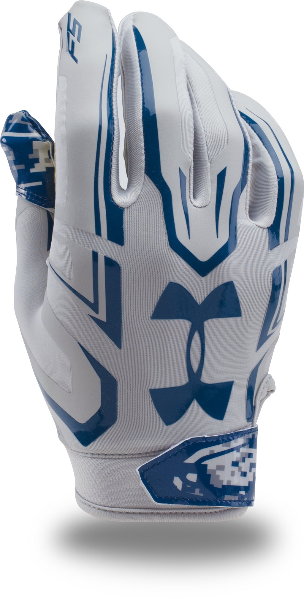 Men's UA F5 — Limited Edition Football Gloves, Aluminum,