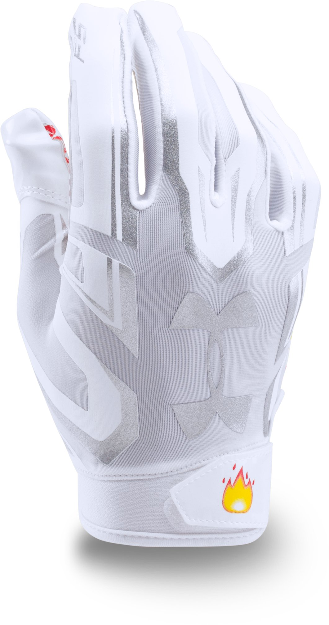Men's UA F5 — Limited Edition Football Gloves, White,