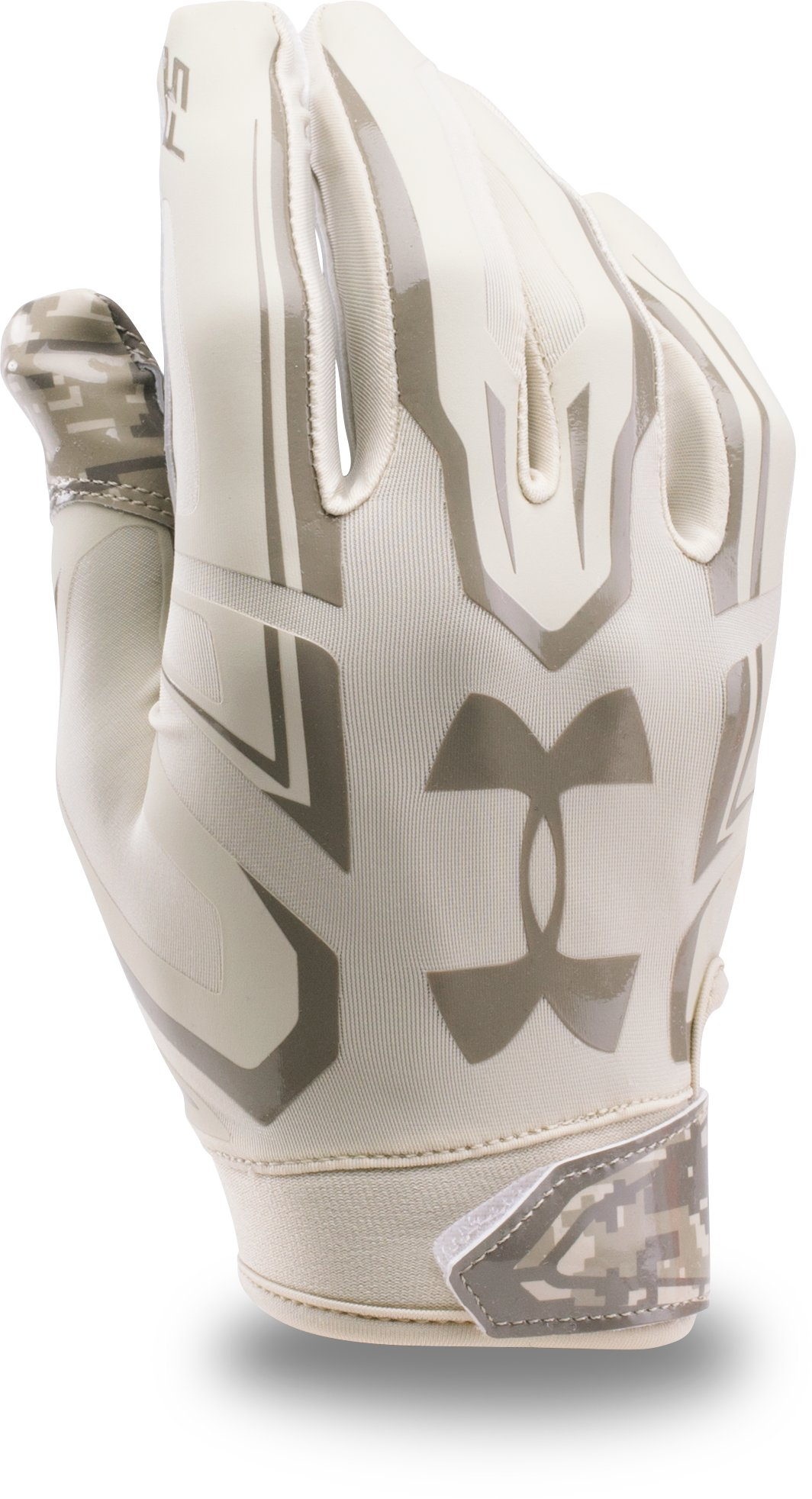 Men's UA F5 — Limited Edition Football Gloves, Sandstorm, undefined