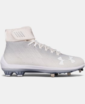 Men's UA Harper 2 Mid ST Baseball Cleats  1  Color Available $119.99