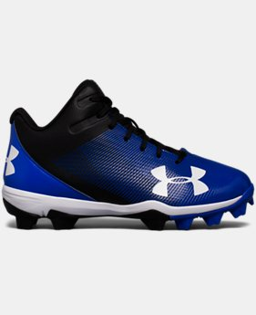 Boys' UA Leadoff Mid RM Jr. Baseball Cleats  4 Colors $37.99