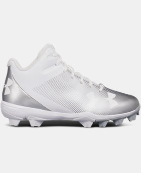 Boys' UA Leadoff Mid RM Jr. Baseball Cleats  1 Color $37.99