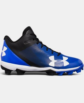 Men's UA Leadoff Mid RM Baseball Cleats  2  Colors Available $47.99