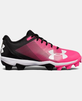 Boys' UA Leadoff Low RM Jr. Baseball Cleats  4 Colors $44.99