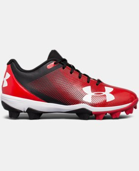 Boys' UA Leadoff Low RM Jr. Baseball Cleats  4 Colors $32.99