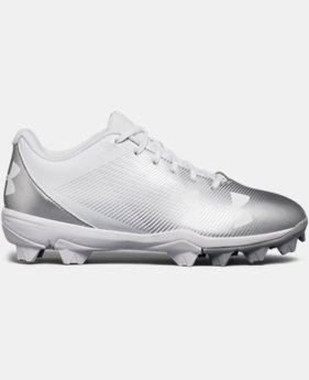 Boys' UA Leadoff Low RM Jr. Baseball Cleats  6  Colors Available $32.99