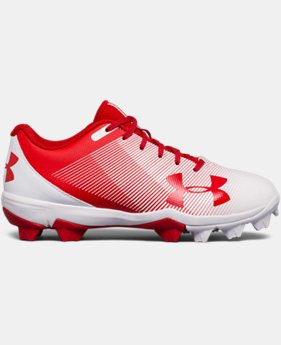 New Arrival  Boys' UA Leadoff Low RM Jr. Baseball Cleats  1 Color $44.99