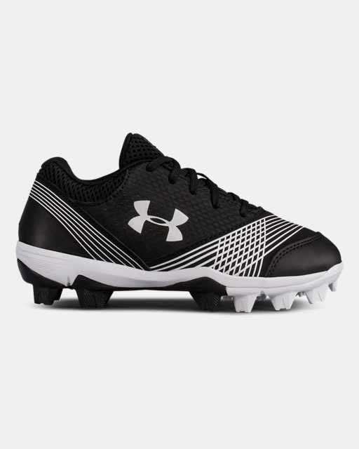Girls' UA Glyde Jr. Rubber Molded Softball Cleats