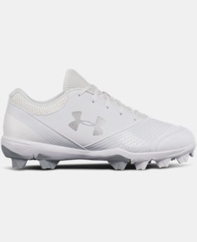 Women's UA Glyde Rubber Molded Softball Cleats   $55