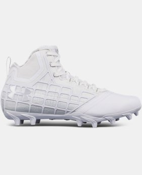 New Arrival  Men's UA Banshee Mid MC Lacrosse Cleats  1 Color $119.99