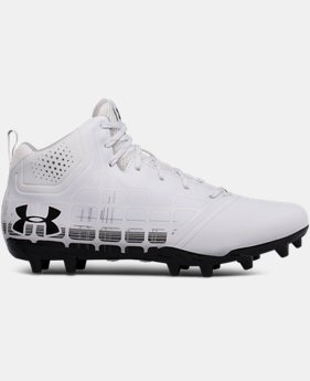 New Arrival Men's UA Banshee Ripshot Lacrosse Cleats  1 Color $69.99