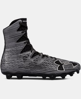 Best Seller Men's UA Highlight MC Lacrosse Cleats  1  Color Available $129.99