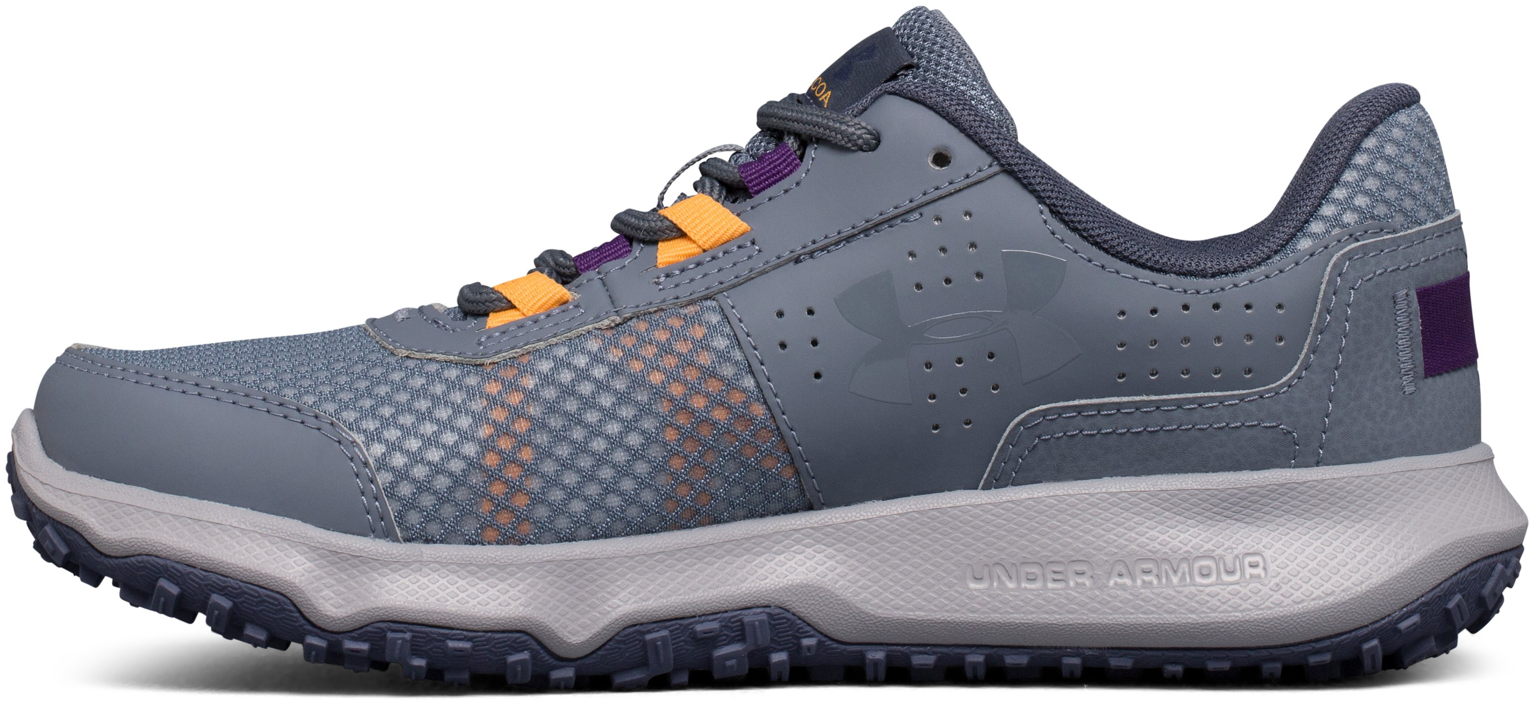 Women's UA Toccoa Running Shoes, GRAVEL,
