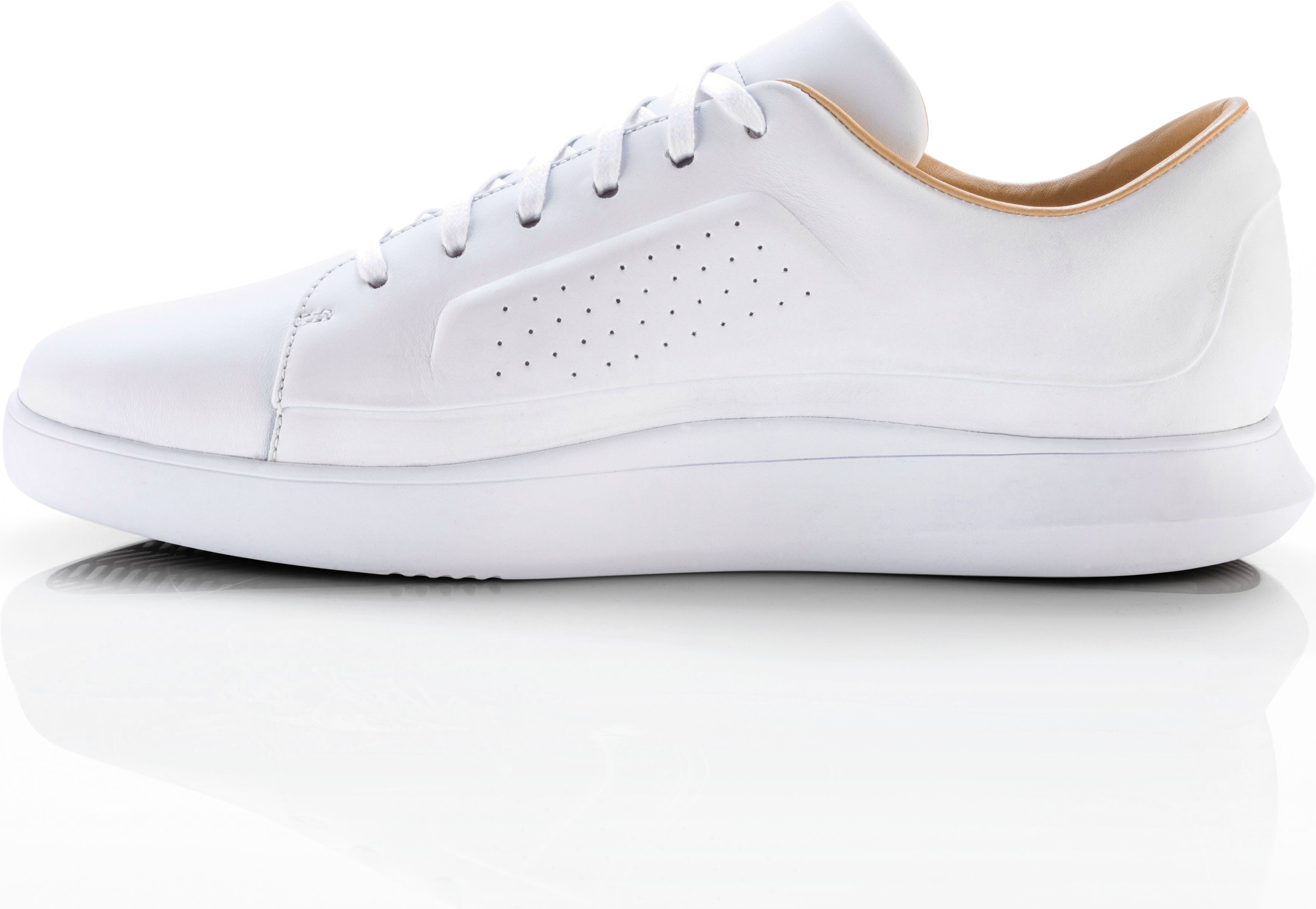 Men's UAS Club Low Leather, White, undefined