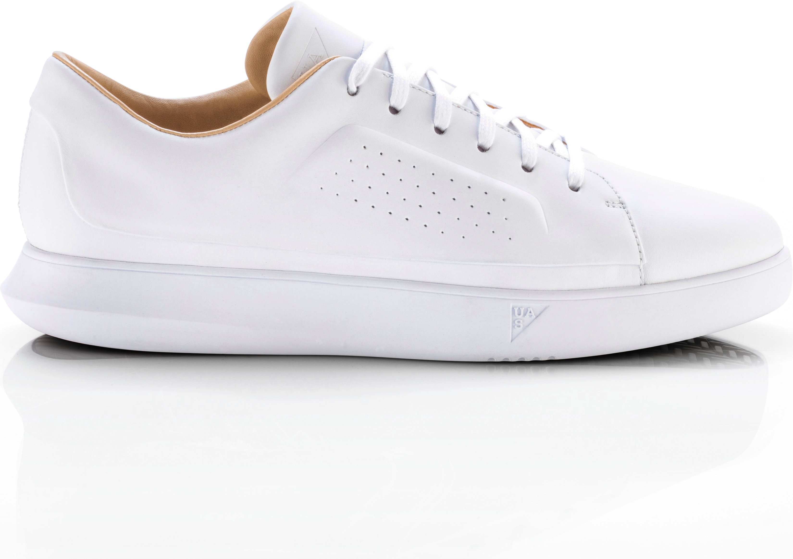 Men's UAS Club Low Leather, White