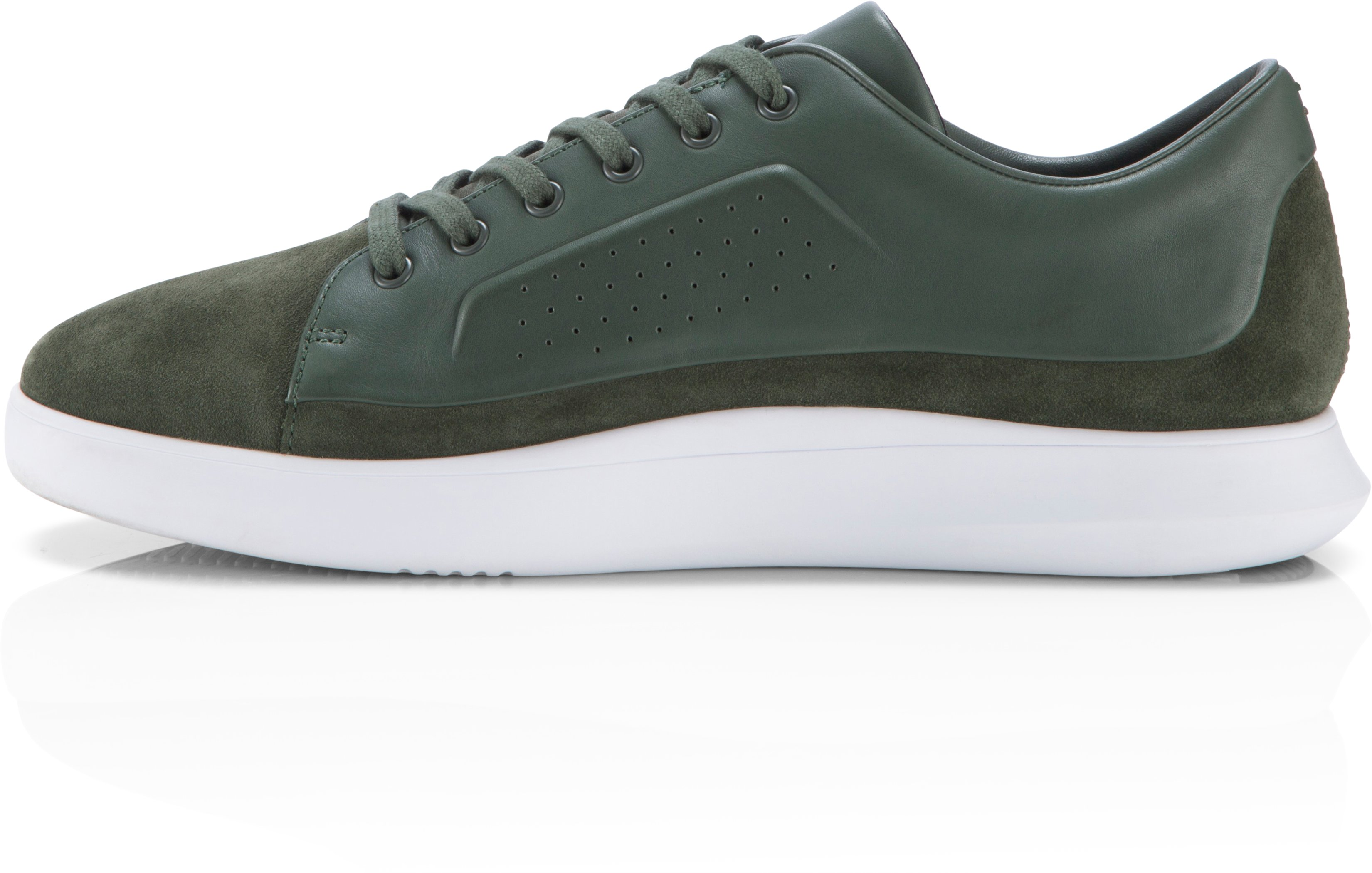 Men's UAS Club Low Leather, HEDGE GREEN