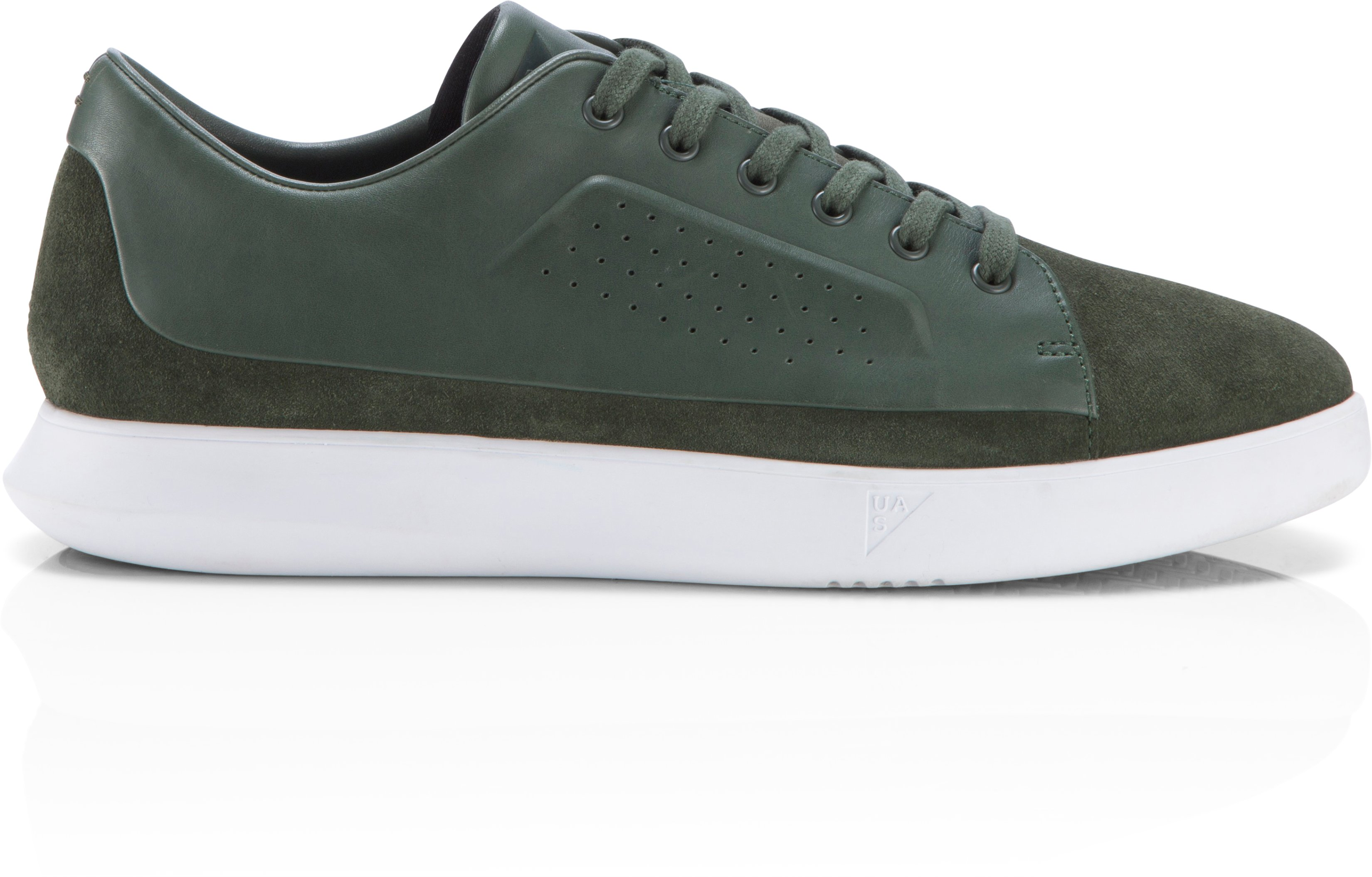 Men's UAS Club Low Leather, HEDGE GREEN, zoomed image