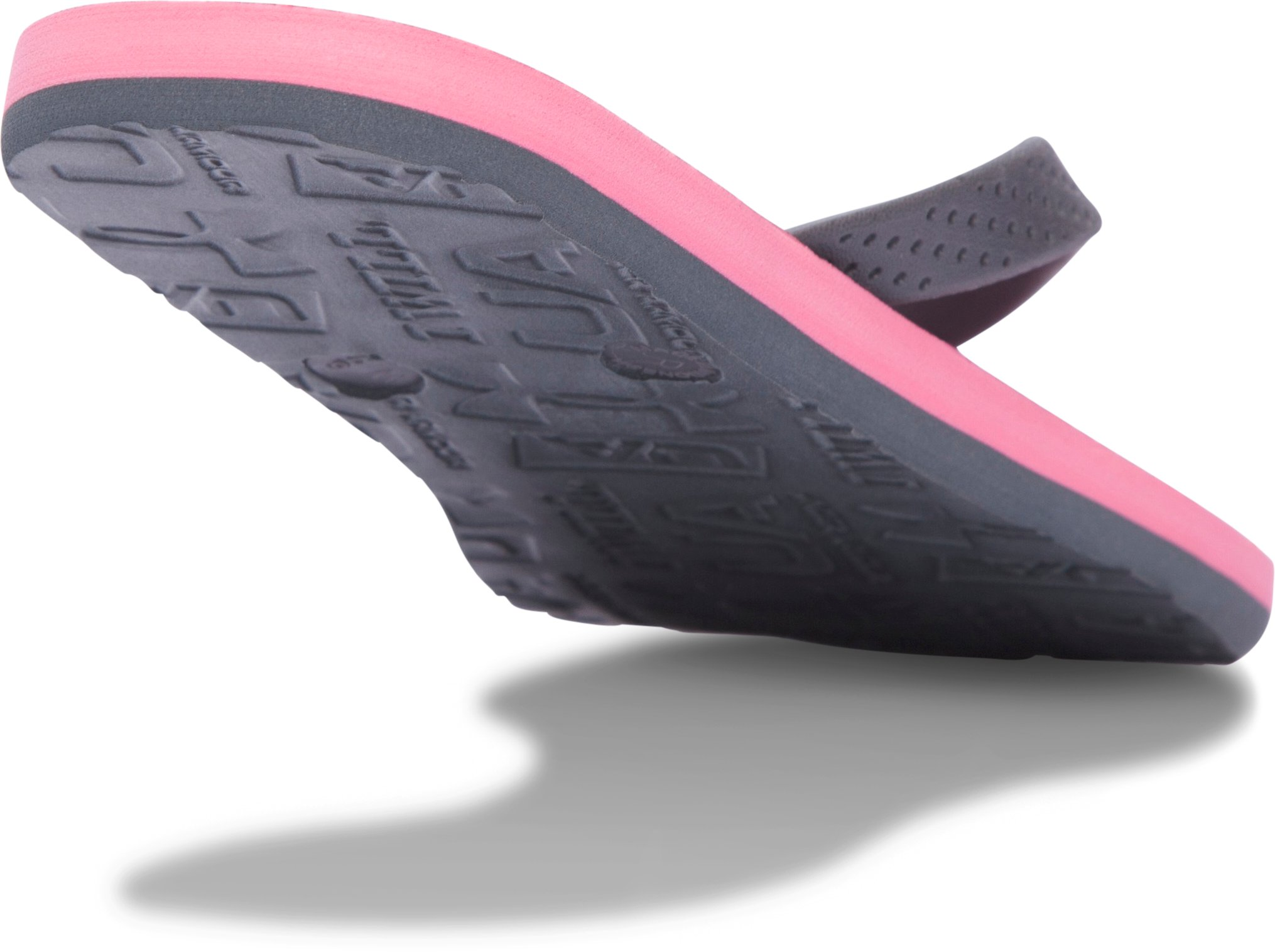 Women's UA Atlantic Dune Sandals, Cerise,