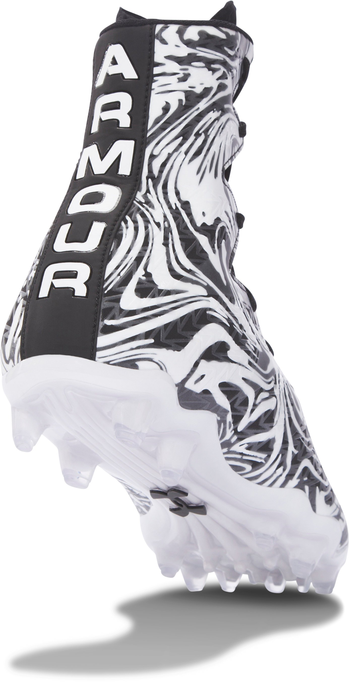 Men's UA Highlight Lux MC Football Cleats, Black , undefined