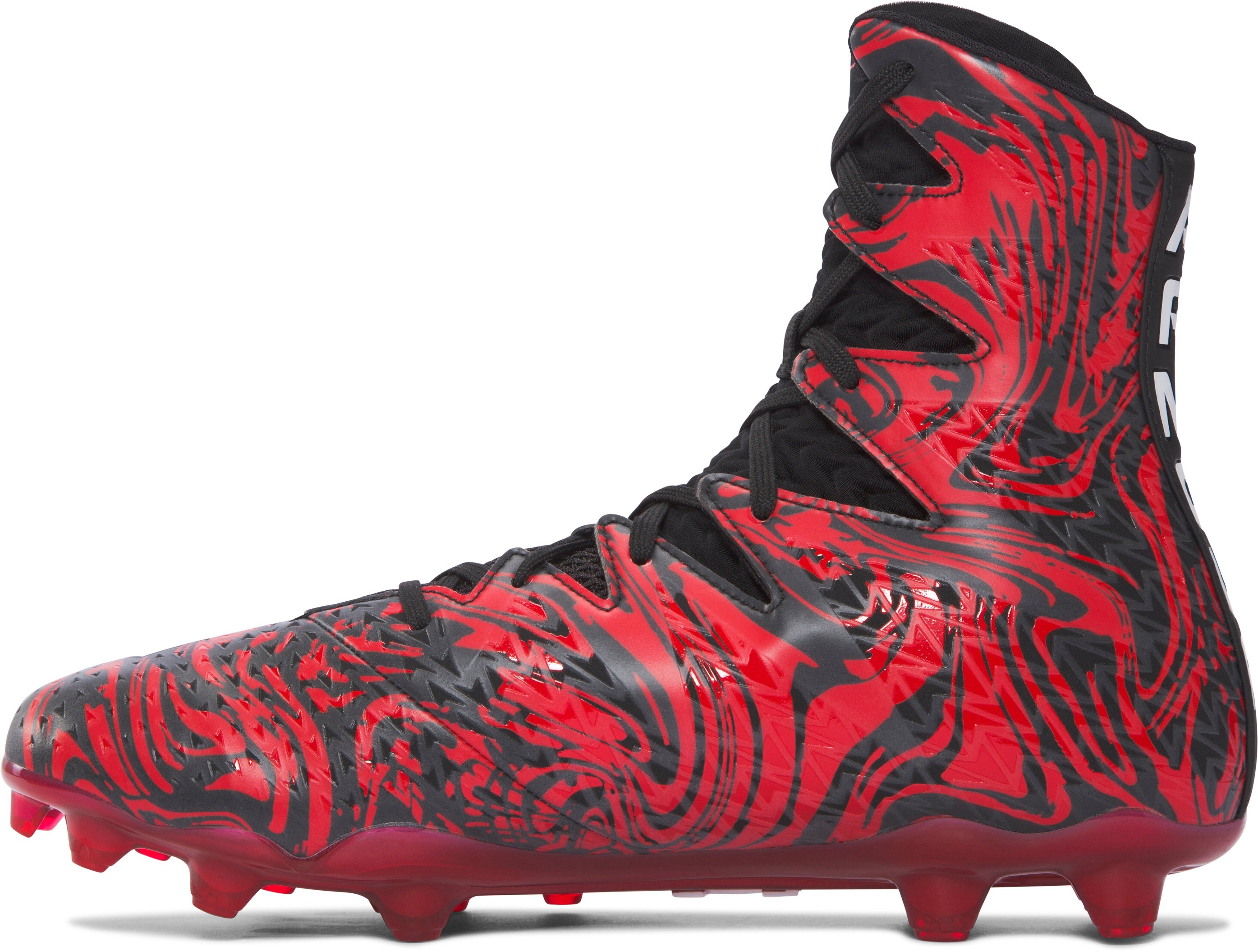 Men's UA Highlight Lux MC Football Cleats, Black