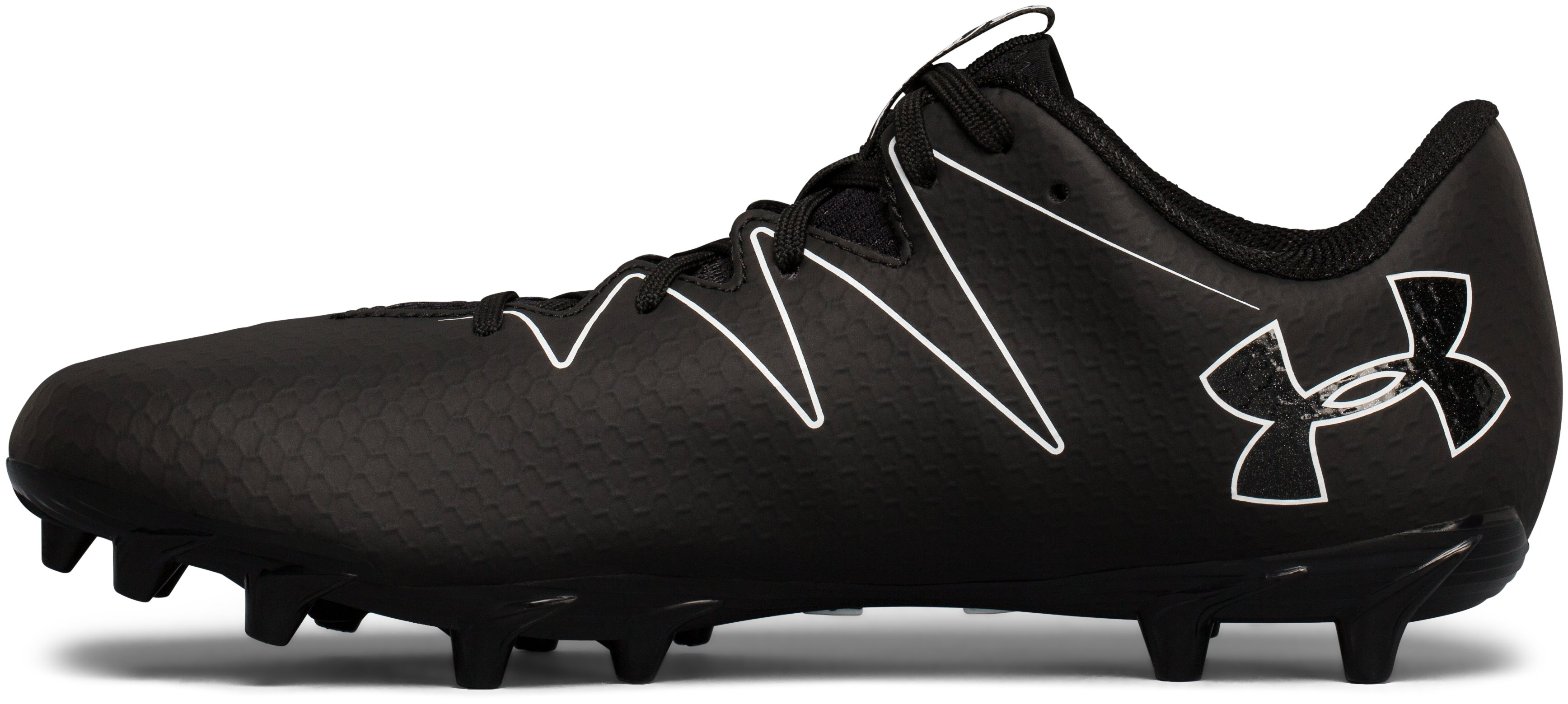 Men's UA Nitro Low MC Football Cleats, Black