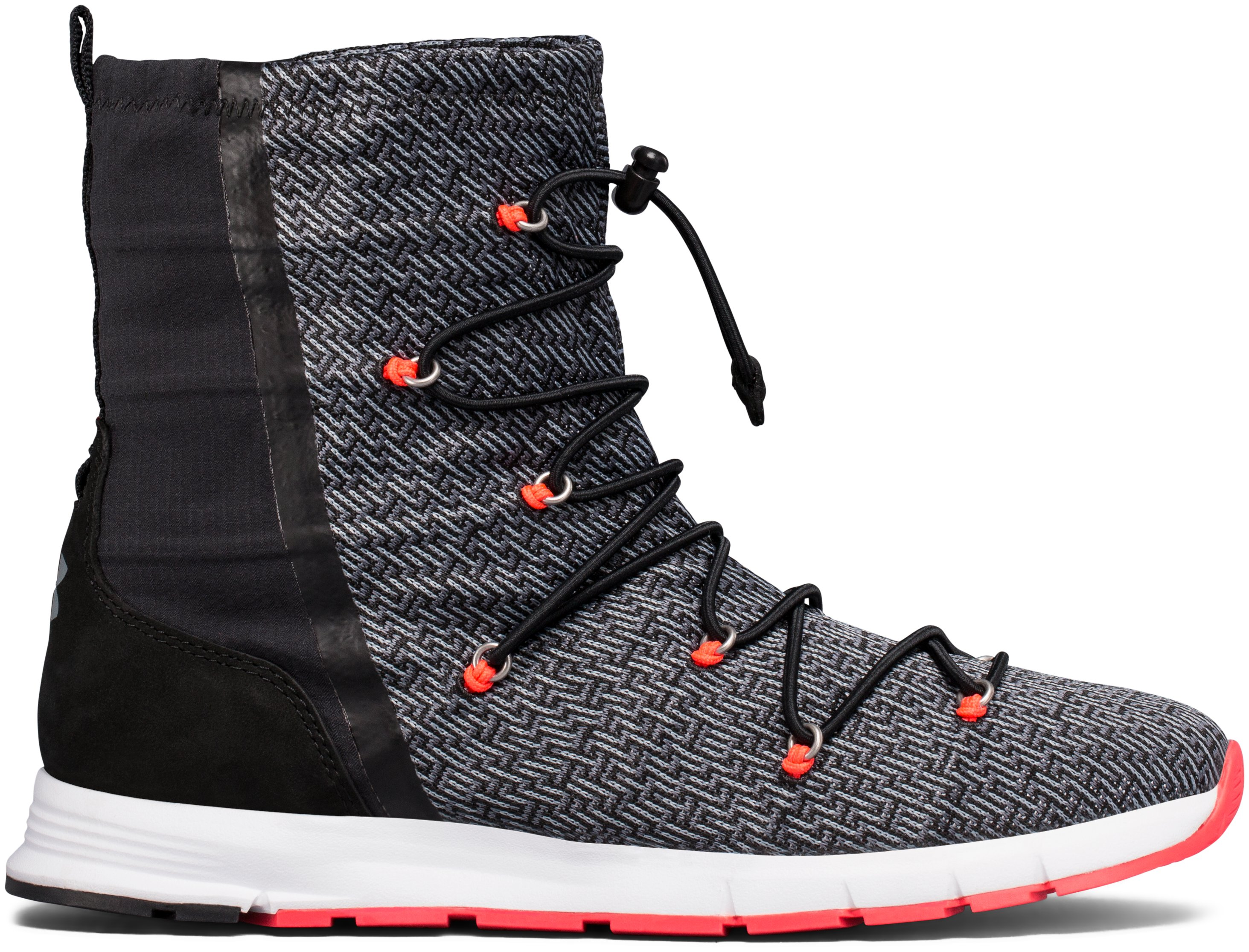 Women's UA Charged All Around Knit Boot, Graphite