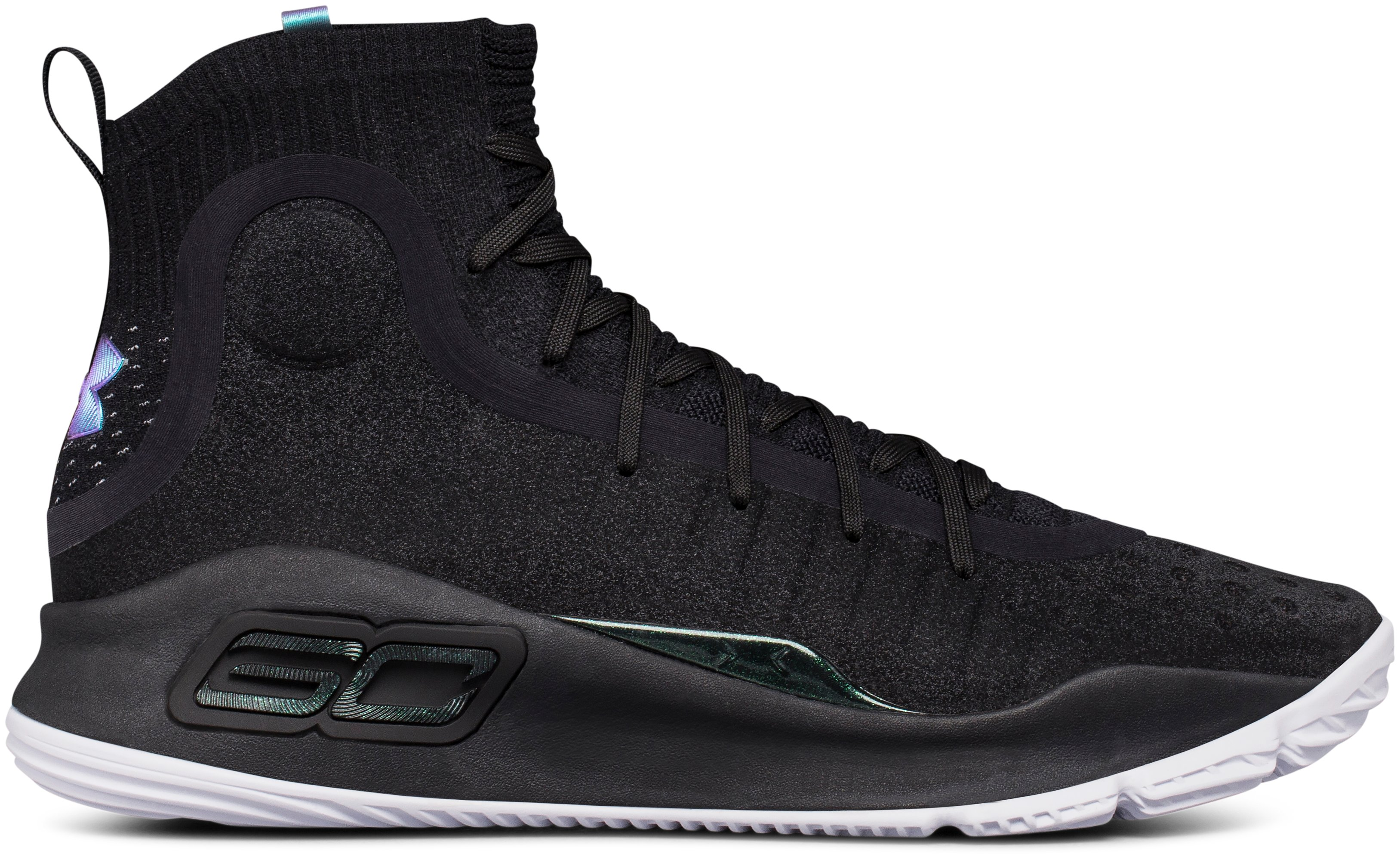 Men's UA Curry 4 Basketball Shoes, Black
