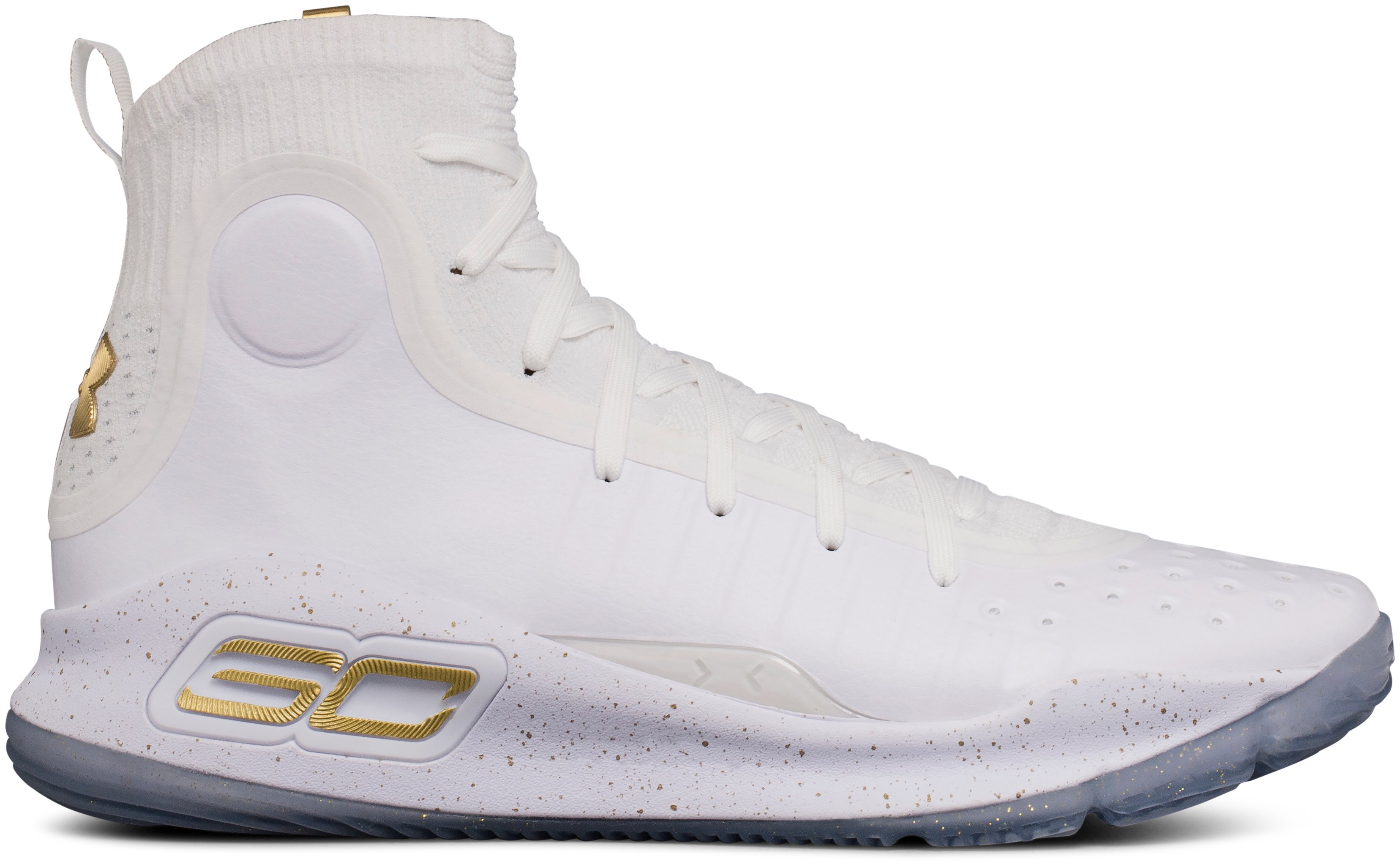 Men's UA Curry 4 Basketball Shoes, 360 degree view
