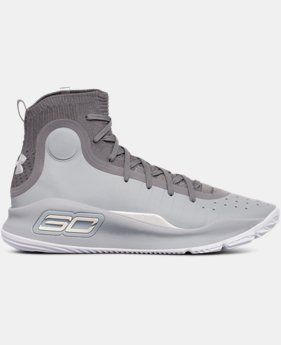New Arrival Men's UA Curry 4 Basketball Shoes  2 Colors $129.99
