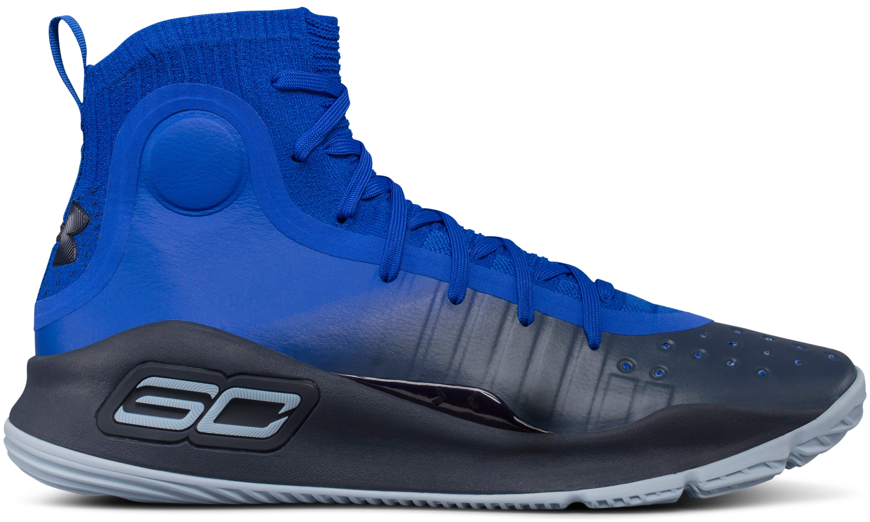 Men's UA Curry 4 Basketball Shoes, TEAM ROYAL