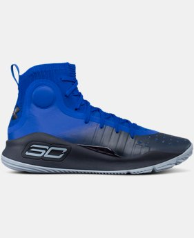 Men's UA Curry 4 Basketball Shoes  1 Color $129.99