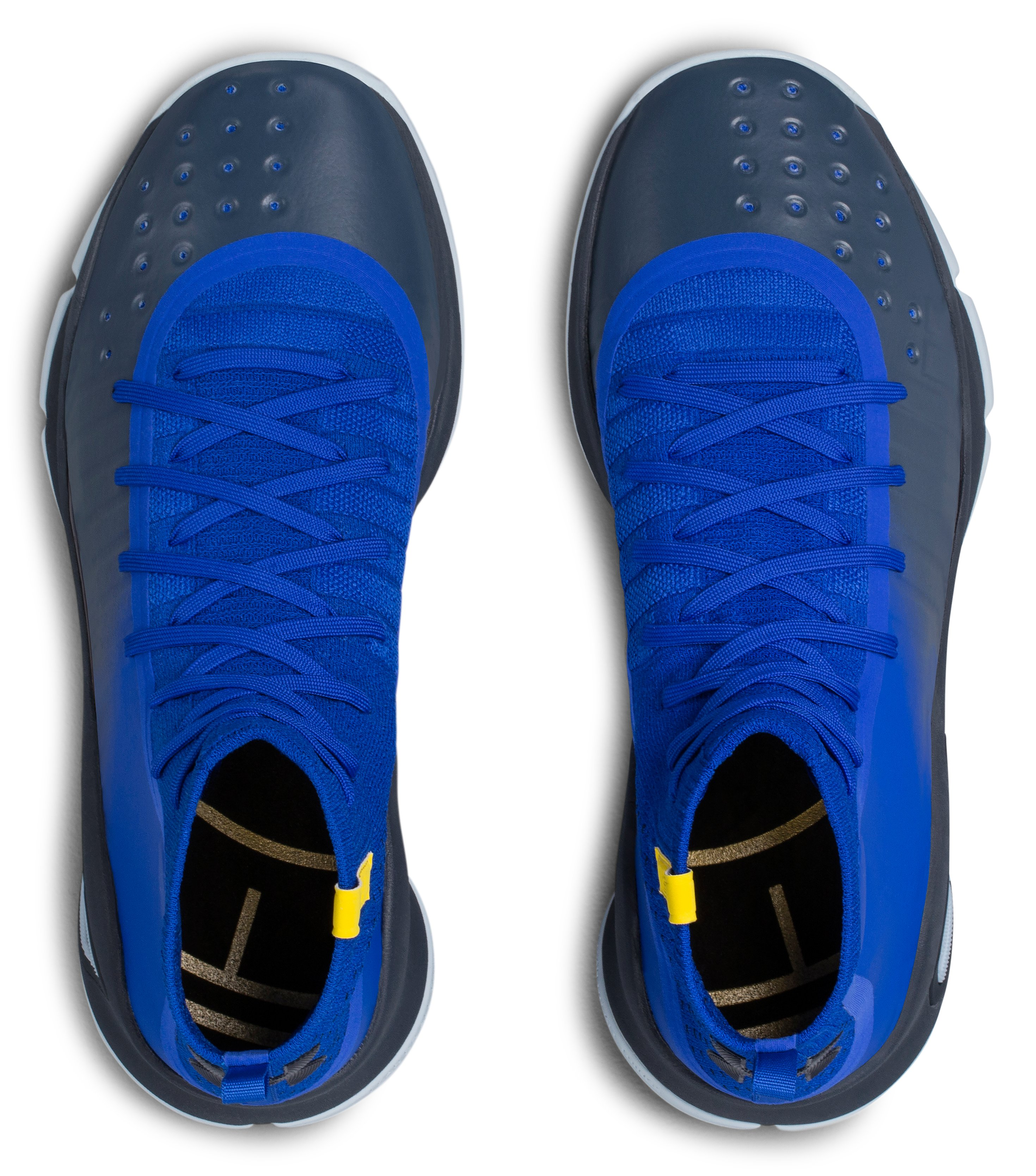 Men's UA Curry 4 Basketball Shoes, TEAM ROYAL, undefined