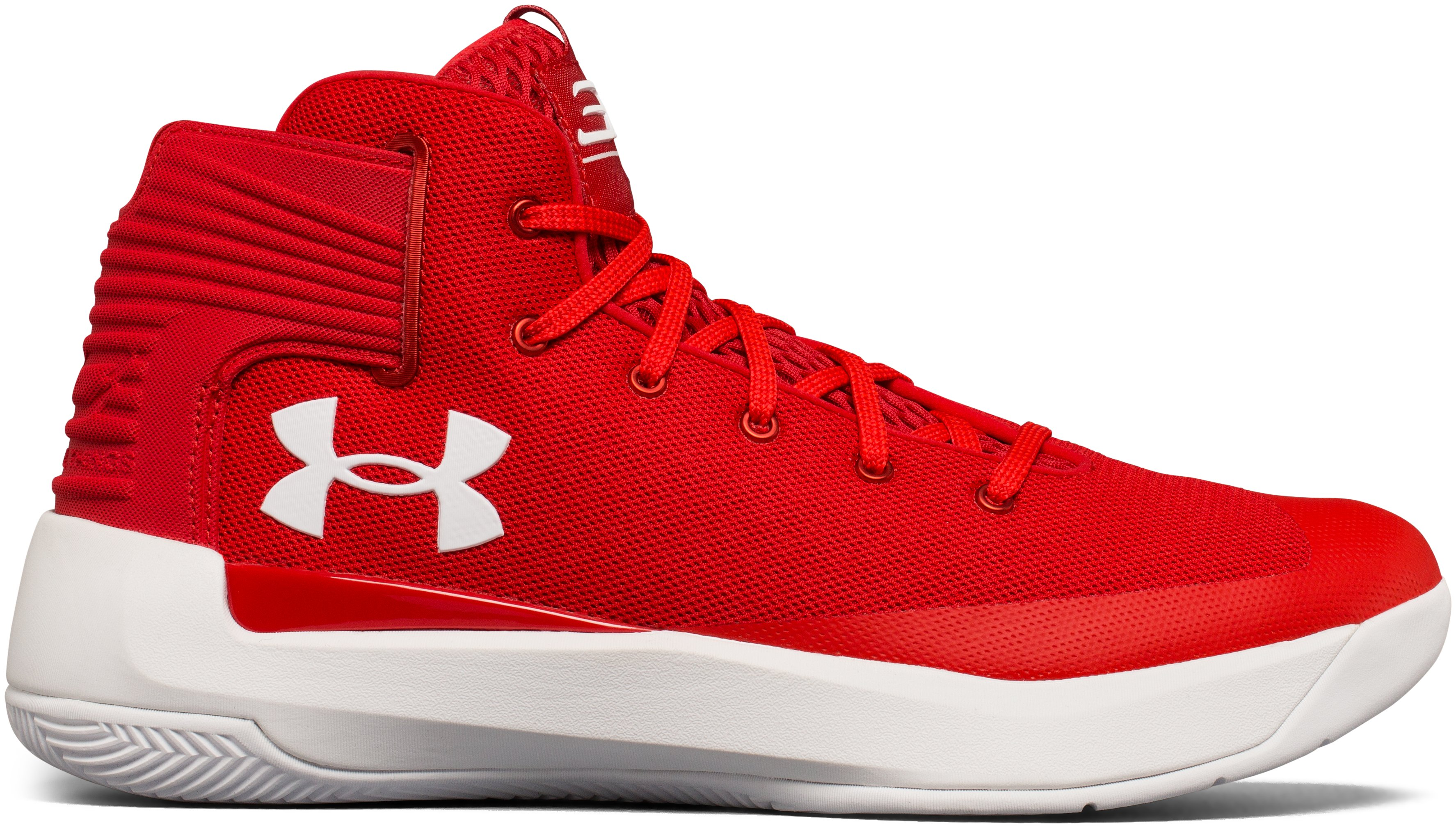 Men's UA Curry 3ZER0 Basketball Shoes, Red, undefined