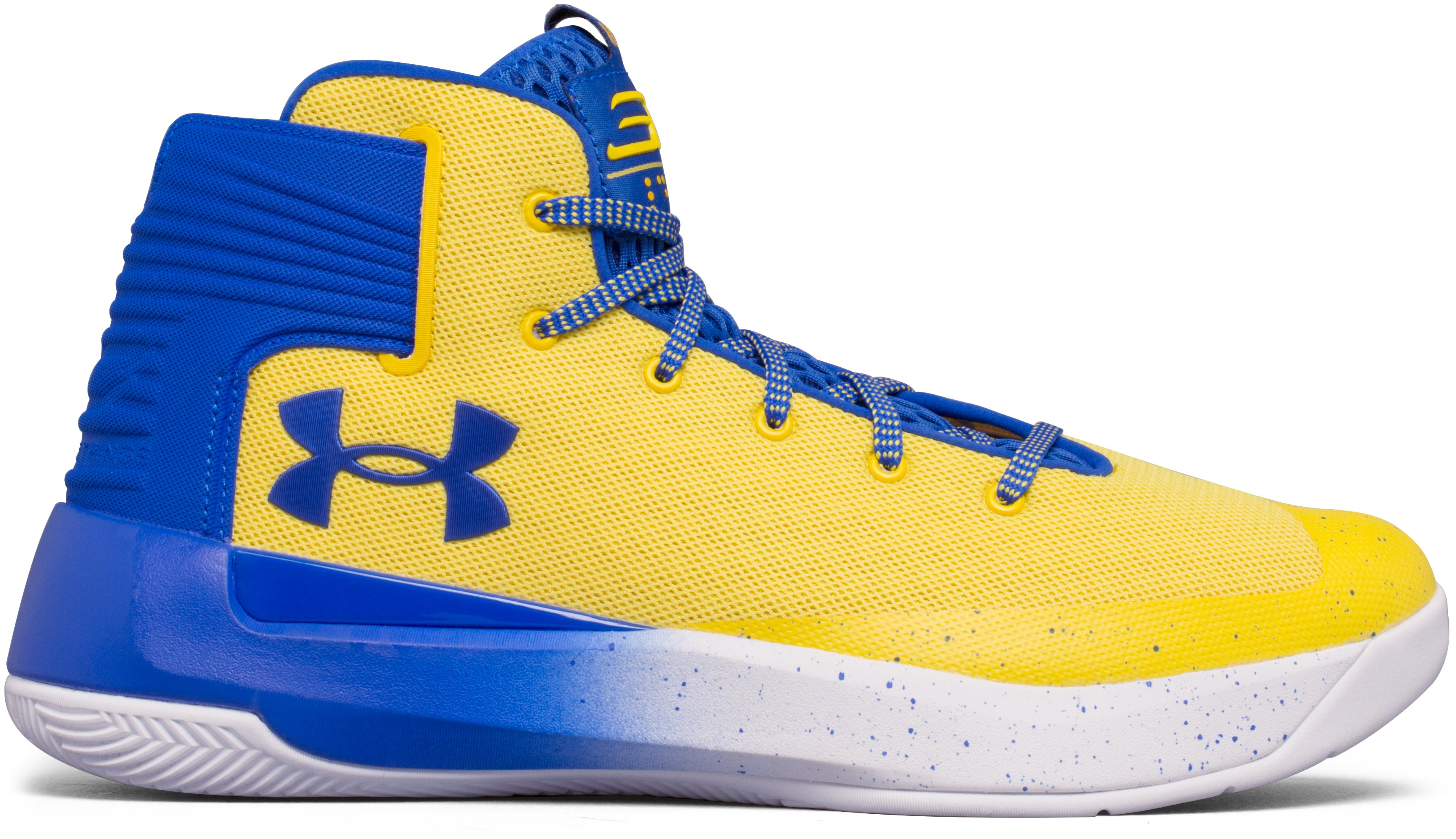 Men's UA Curry 3ZER0 Basketball Shoes, Taxi