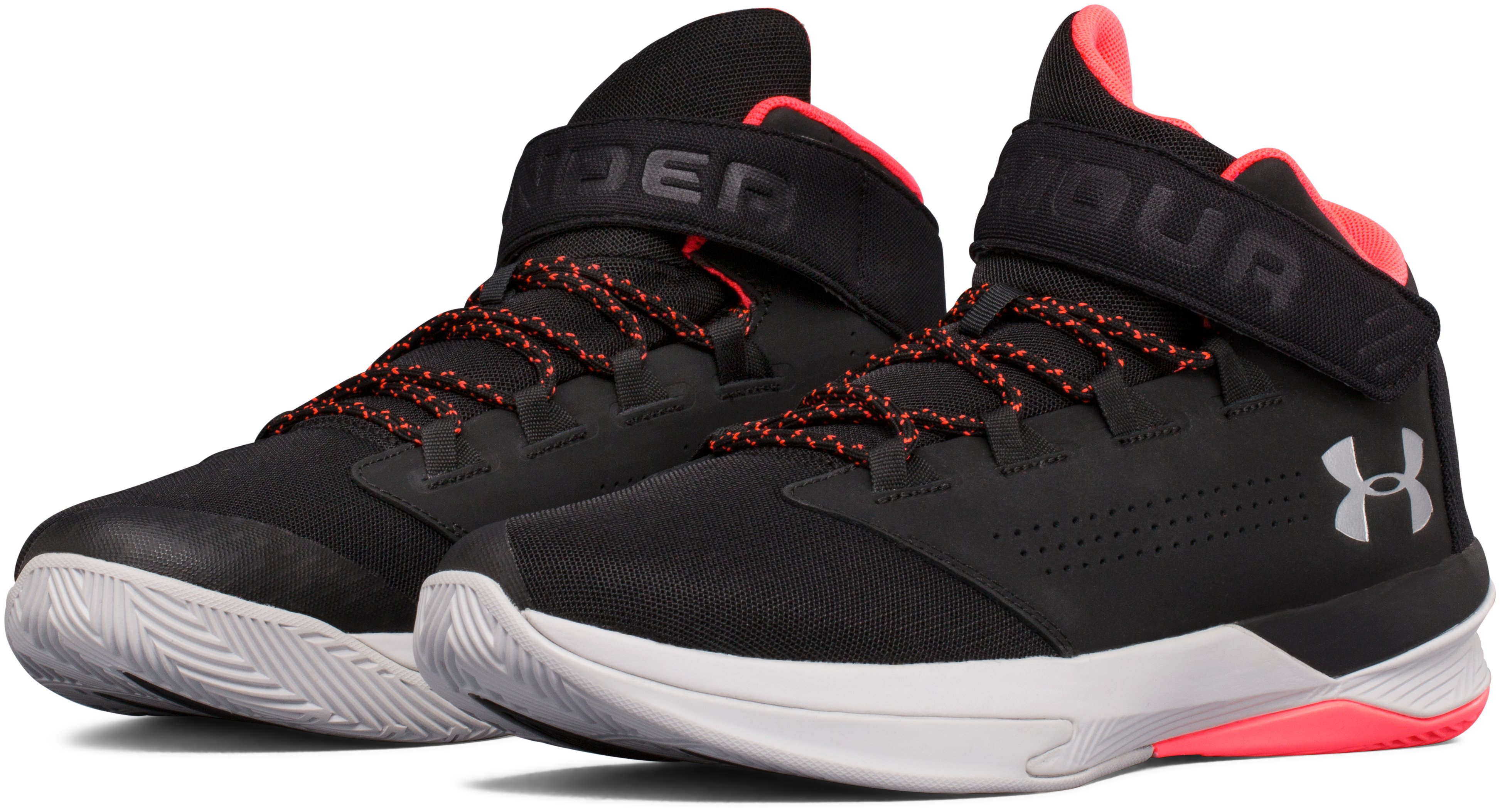 Men's UA Get B Zee Basketball Shoes, Black ,