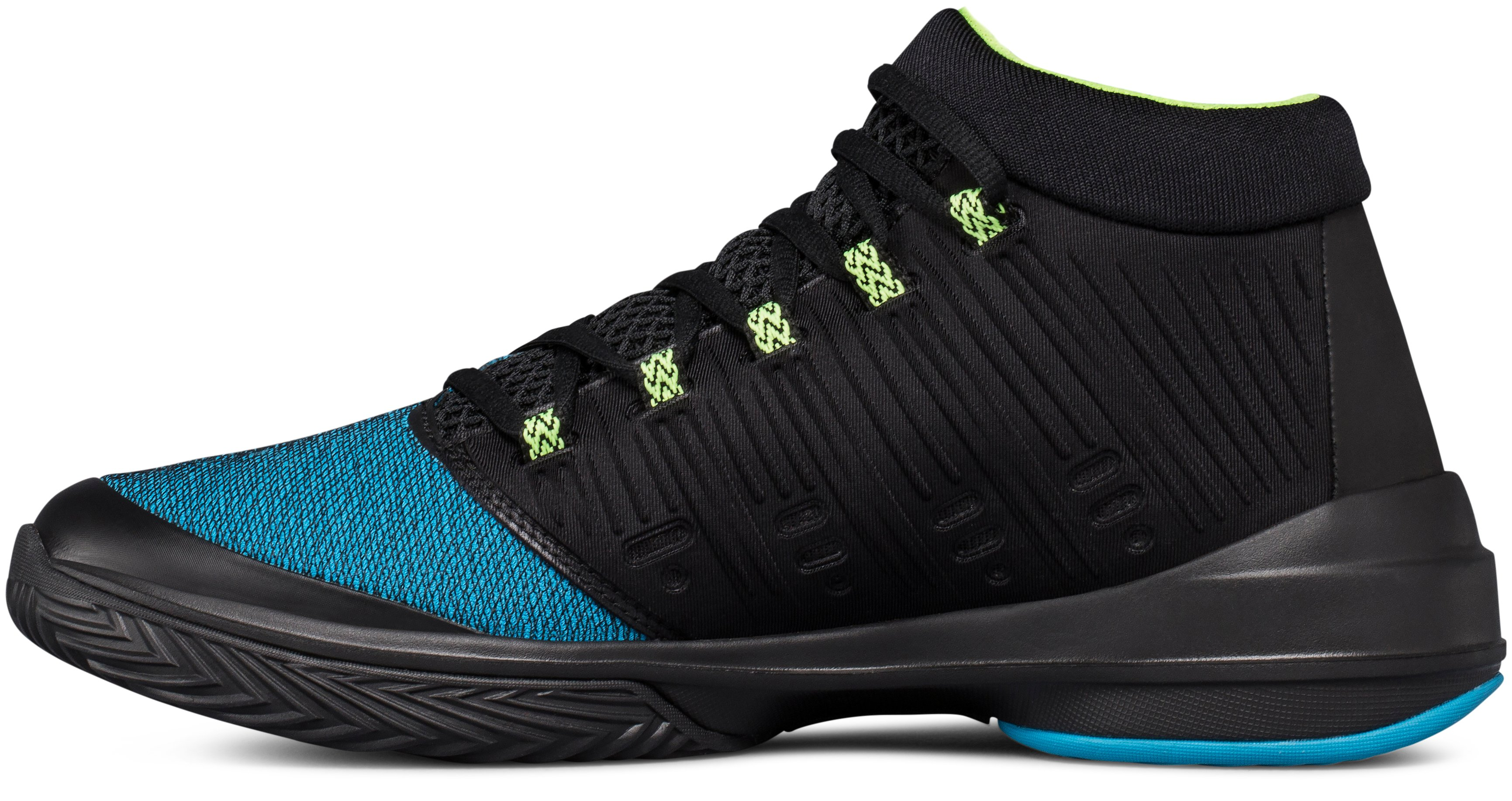 Men's UA NXT Basketball Shoes, BAYOU BLUE, undefined